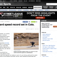 ESPN Action Sports Article